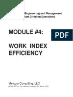 Module4 - Work Index Efficiency