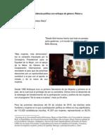 Incidencia de la participación social y política de las  mujeres en la ciudad de Medellín