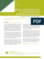 buprenorfina transdermica