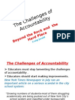 The Challenges of Accountability