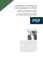 Inventario Academinco Da Propaganda No Brasil