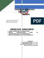 Derecho Bancario (FMI, BM, BID).docx