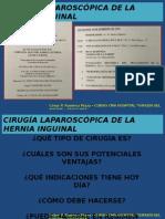 Cirugía Laparoscópica de Hernia en CMA