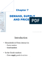 Demand, Supply and Prices