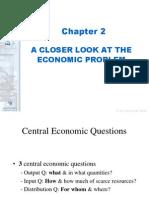 A Closer Look at the Economic Problem