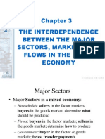 The Interdependence Between the Major Sectors, Markets