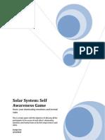 Solar System a Self Awareness Game_ver2.0