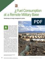 Reducing Fuel Consumption