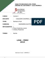 Control I-3er Laboratorio Final