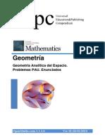 [Maths] 3.6 Geometria Espacio PAU Enunciados