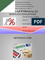 Presentación Proyecto IVA Empresa de Servicios Educativos