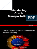 Oracle Transportation