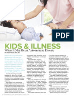 KIDS & ILLNESS
