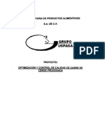 USPA -HACCP -Optimizacion y Control Calidad