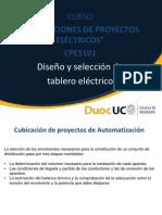 Cpe5101_clase Nº4_diseño y Seleccion de Tablero Electrico