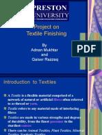 presentation on textile finishing