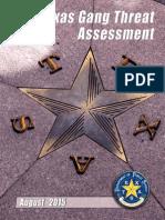 2015 Texas Gang Threat Assessment