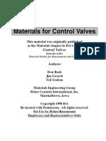 ISA Materials Chapter