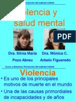 Violencia y Salud Mental 2015 - cifras