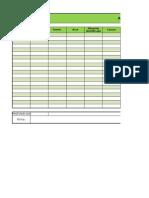 Formato Plan de Mejoramiento Empresa Agropecuaria