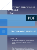 TRASTORNO ESPECIFICO DE LENGUAJE.ppt