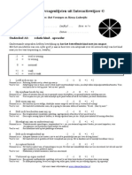 BOTS-Vragenlijsten Uit Interactiewijzer 2010