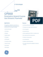 GM868 Gas Ultrasonic Flowmeter