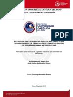 Estudio Pre-factibilidad Empresa Comercializacion Tequeños Lima Anexos