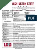 WSU vs. PSU Game Notes