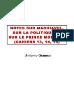 Gramsci Notes sur Machiavel