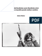 Zaher Baher - El experimento del Kurdistán Oeste (Kurdistán Sirio)