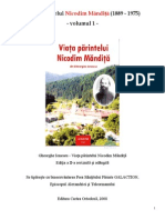 Viata Parintelui Nicodim Mandita 1889-1975 - Volumul 1