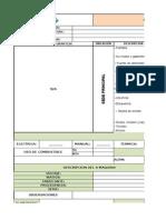 Formato de Tarjeta Maestra de Oficina Computo 02