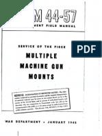 FM 44-57 War Department Field Manual