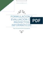 Encuentro 3 - Tipos de Evaluacion de Proyecto