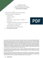 Programa Sintético EDS608