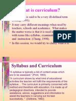 Types of curriculum docx | Curriculum | Teachers