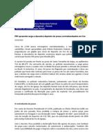 PRF Apreende Carga e Descobre Depósito De