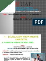 Marco Juridico y Conflictos Ambientales
