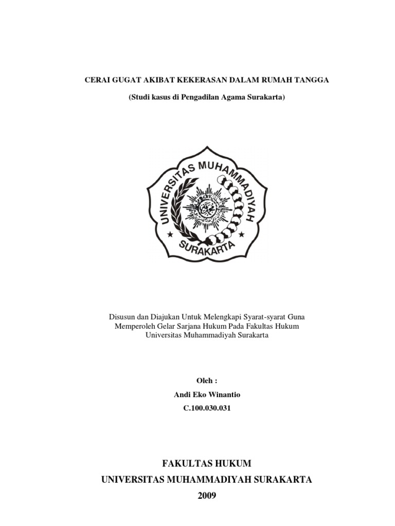 Contoh Proposal Skripsi Hukum Perdata Tentang Perkawinan Beda Agama Berbagi Contoh Proposal
