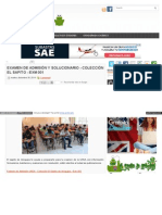 Www Elsapitodearequipa Com 2014 12 Examen de Admision y Solu