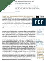 Análisis OHL. Particularidades Del Sector de La Construcción