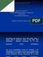 Presentacion - Estilos periodisticos