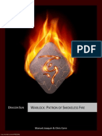 5E Warlock - Patron of Smokeless Fire (7502949)