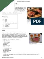 List of Steak Dishes