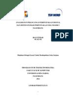 Skripsi Analisis Dan Perancangan Perpustakaan Digital Dan Sistem Otomasi Perpustakaan Sma Negeri 3 Palembang
