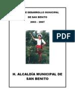 Pdm Cochabamba San Benito