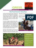 In Progress Newsletter August 2015