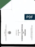 Rodríguez Paniagua. Historia Del Pensamiento Jurídico TORÍA DEL DERECHO S. XXI