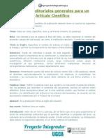 Criterios Editoriales Artículo Científico